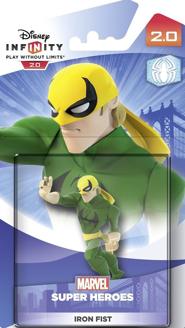 Figurka Disney Infinity 2.0 - Iron Fist (PS3, PS4, Xbox 360, Xbox One, WiiU, 3DS)